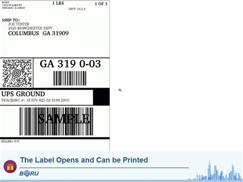 create a shipping label online create and print shipping labels boru apps