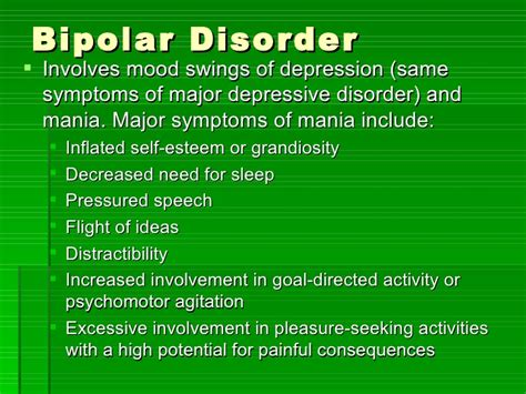 bipolar mood swings symptoms mood disorder and suicide