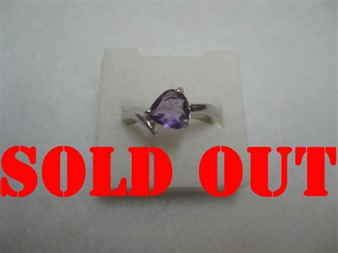 Cincin Amethys 001 amethyst kecubung pada set perhiasan perak total 11