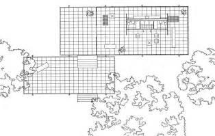 Farnsworth House Floor Plan Dimensions Canoe Design Farnsworth House