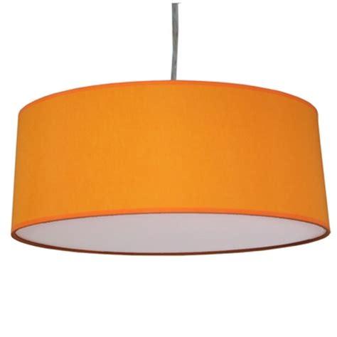 Orange L Shades Uk by Drum Pendant Shade Orange Imperial Lighting