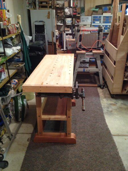 guild of oregon woodworkers guild of oregon woodworkers my re built small workbench