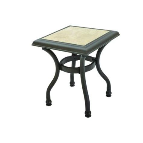 Home Depot Patio Table Hton Bay Patio Side Table Fts79063g The Home Depot