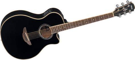 Gitar Akustik Elektrik Model Apx Black yamaha apx700 thinline acoustic electric guitar black