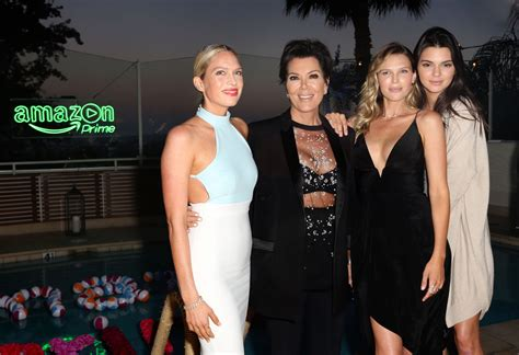 how is erin foster related to the jenners kris jenner in amazon prime summer soiree hosted by erin
