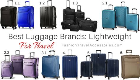 best luggage brands best luggage brands for travel lightweight expandable