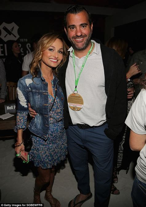 Who Is Giada Dating | giada de laurentiis turns up the heat in a low cut orange