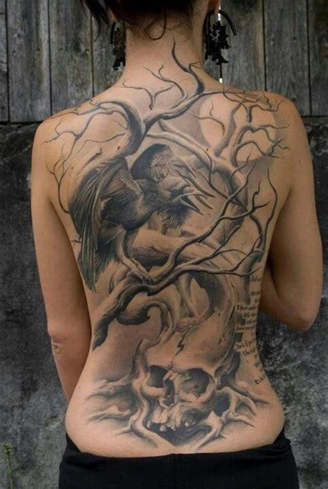 full back tattoos for females 100 tastefully provocative back tattoos for