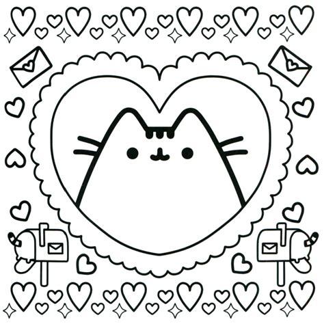 imagenes kawaii de amor para dibujar pusheen coloring book pusheen pusheen the cat pusheen