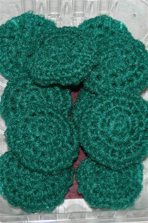 knitted scrubbies netting the world s catalog of ideas