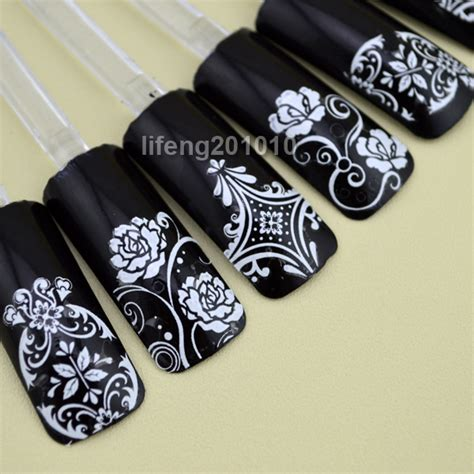 August Sale Stiker 3d Flower 108 Pcs aliexpress buy 108pcs high quality 3d nail stickers decals for nail tips decoration