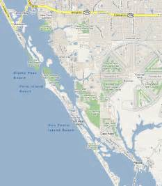 florida west coast beaches map west coast florida beaches