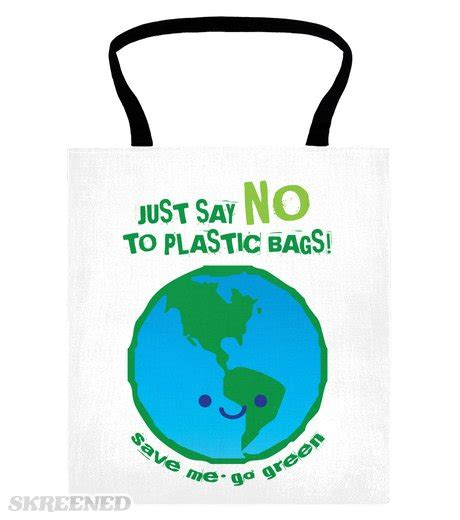Rupert Goes Back To Plastic Bags by Just Say No To Plastic Bags Canvas Tote Bag Skreened