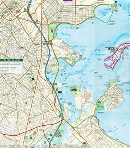 Boston Harbour Map by Boston Harbor Map Images