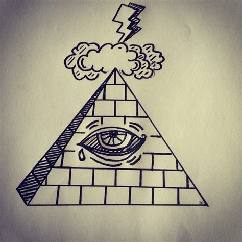 illuminati pyramid eye illuminati pyramid eye drawing www pixshark images