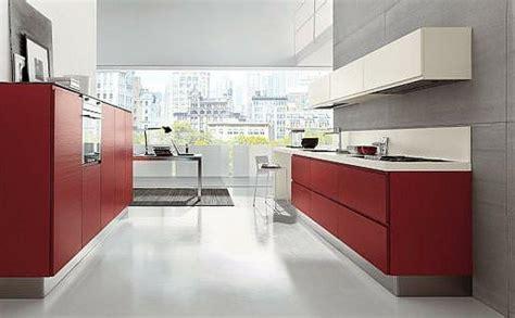 imagenes de cocinas integrales rojas cocinas rojas facilisimo com
