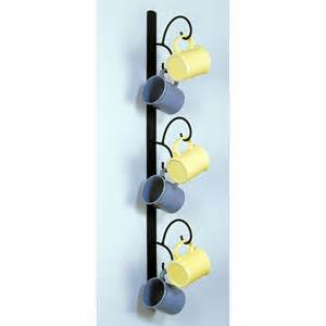 wall mounted mug rack vertical best of new