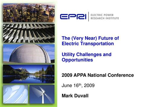 creative and the electric utility of the future books ppt the near future of electric transportation