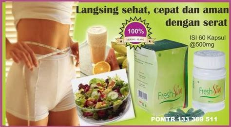 Ekstrak Slim buy fresh slim suplemen pelangsing mengandung ekstrak garcinia cambogia diet sehat diet aman