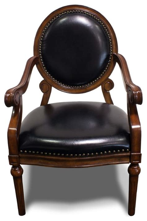 Formal Living Room Accent Chairs Formal Living Room Accent Arm Chair With Nailheads