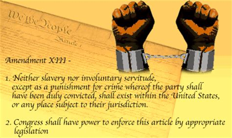 13th Amendment Section 2 by Constitutional The Thirteenth Amendment