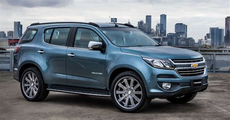 chevrolet trailblazer 2016 chevrolet trailblazer facelift imported to india for