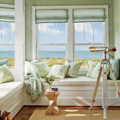 window seat design coastal living with a nbaynadamas throw show house