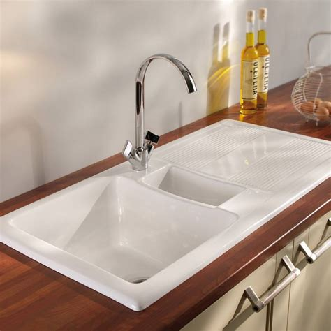 White Porcelain Sink Kitchen White Porcelain Undermount Kitchen Sink The Clayton Design White Porcelain Kitchen