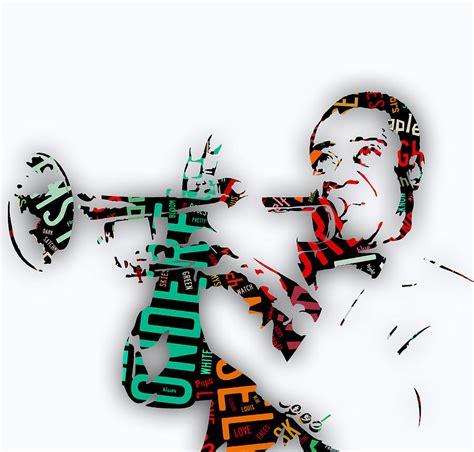 louis armstrong what a wonderful louis armstrong what a wonderful world lyrics mixed media