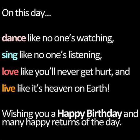 Happy Birthday Quotes In For 22 Best Happy Birthday Quotes Life Quotes