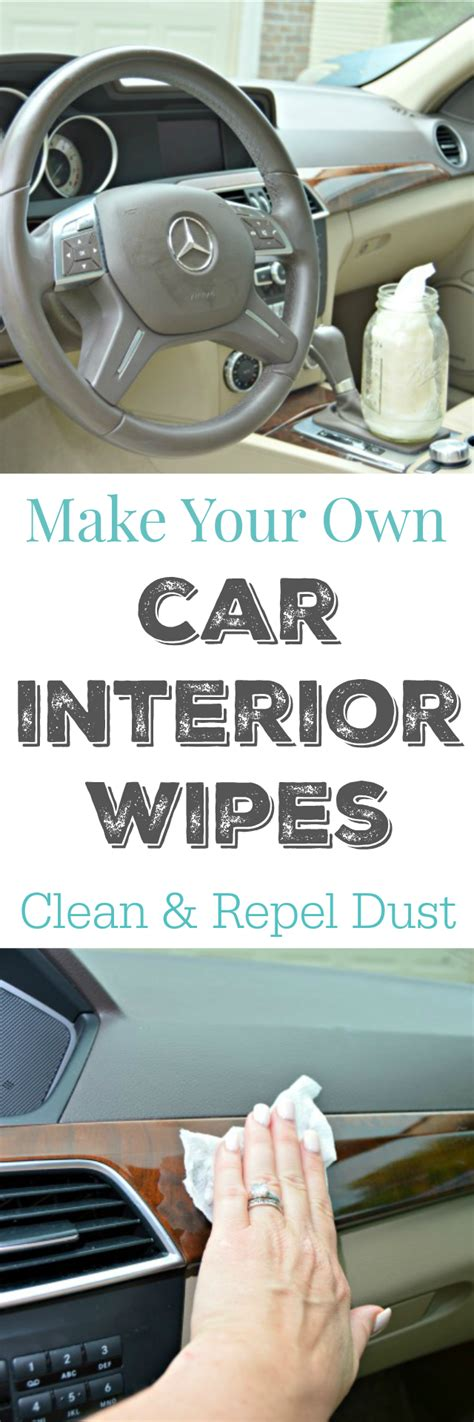 Car Wipes Interior by Make Your Own Car Interior Wipes 4 Real