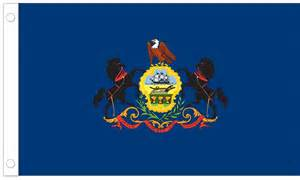of pennsylvania colors pennsylvania state flag 3 x 5 polyester