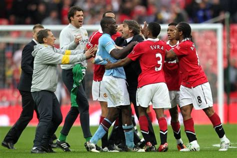 United Wembley 2011 soccer fa cup semi manchester city v manchester united wembley stadium 187 who ate