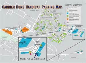 disability services parking lot guide a z
