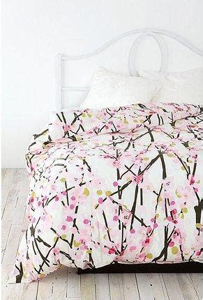 cherry blossom bedding urbanoutfitters com gt cherry blossom duvet cover
