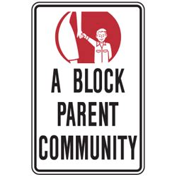 Blockers Parents Guide Block Parent Program Strada Sign Supply Inc