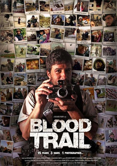 blood trail movie blood trail 171 movie poster design