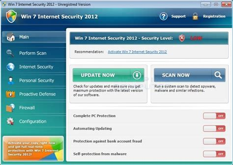 Windows 7 Security Templates by Antivirus Warnings Quot Scareware Quot Computer Help
