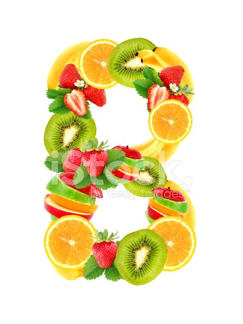 b fruity letter b with fruit stock photos freeimages