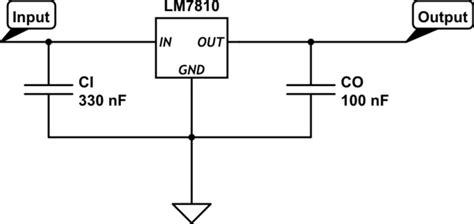 capacitor values for voltage regulator voltage regulator reference capacitor values electrical engineering stack exchange