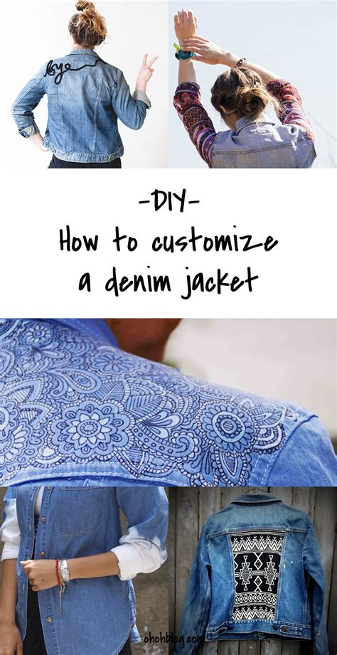 diy fashion diy to try customized denim jackets the about