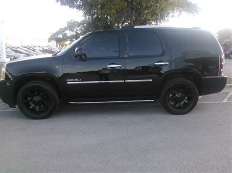 Gmc Yukon Denali Blacked Out blacked out gmc yukon