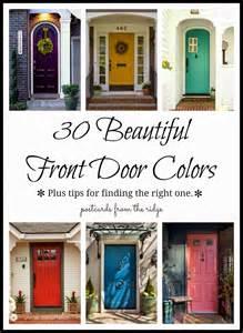10 best front door colors 2014 top ten posts postcards from the ridge