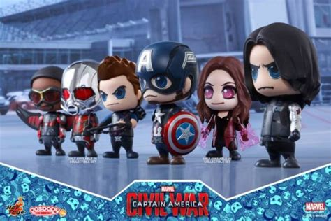 Toys Cosbaby Vision Civil War Ori previews of the new captain america civil war cosbaby