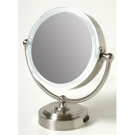 nickel bathroom mirror a brushed nickel mirror for a bathroom vanity useful