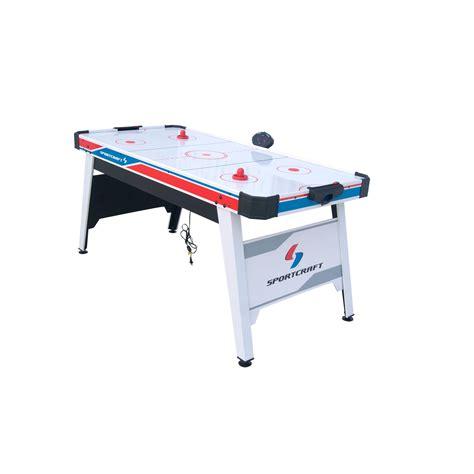 Sportcraft Air Hockey Table by Sportcraft Sc1001 Slap 66in Air Powered Hockey