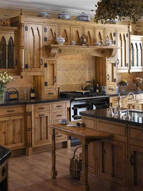 Designing A Gothic Kitchen In Your House   Wearefound Home