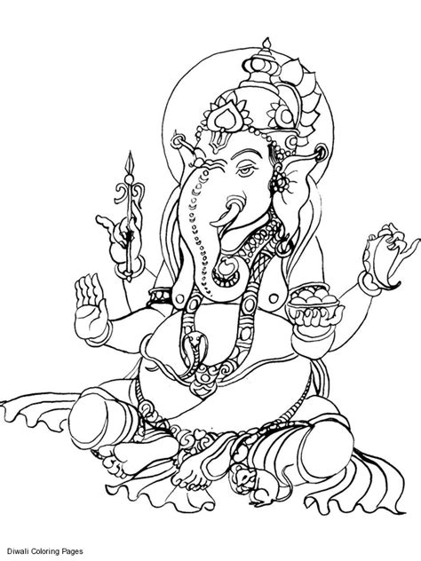 printable ganesh images ganesha coloring pictures sri ganesh coloring pages