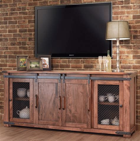 latest rustic   tv stands