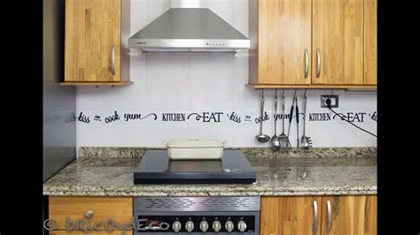 cenefas modernas para cocina cocinas con cenefas